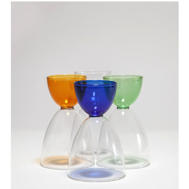 Mamo Cocktail Glasses - Set of 4 For Sale In New York - Image 6 of 6