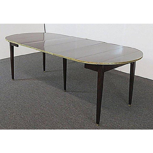 Directoire Style Drop Leaf Dining Table For Sale In Philadelphia - Image 6 of 11