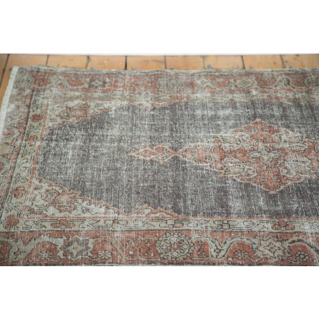 """Islamic Vintage Oushak Distressed Rug - 3'8"""" X 5'4"""" For Sale - Image 3 of 7"""