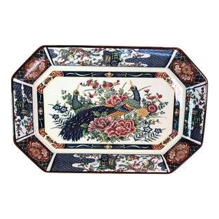 Vintage Imari Porcelain Platter