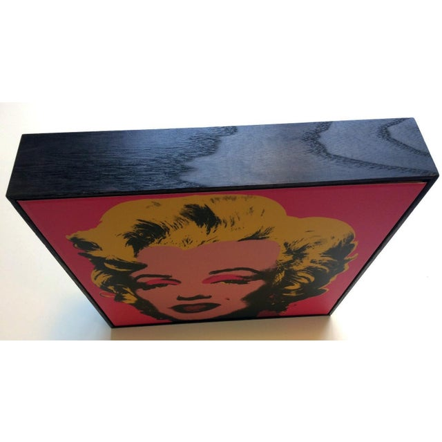 Andy Warhol Box Framed Andy Warhol Marilyn Print For Sale - Image 4 of 4