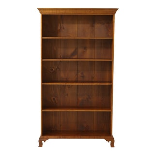 Eldred Wheeler 4 Shelf Cherry Open Bookcase For Sale