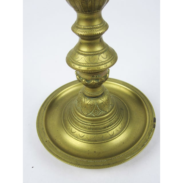 Brass Pedestal Ash Tray - Image 5 of 7