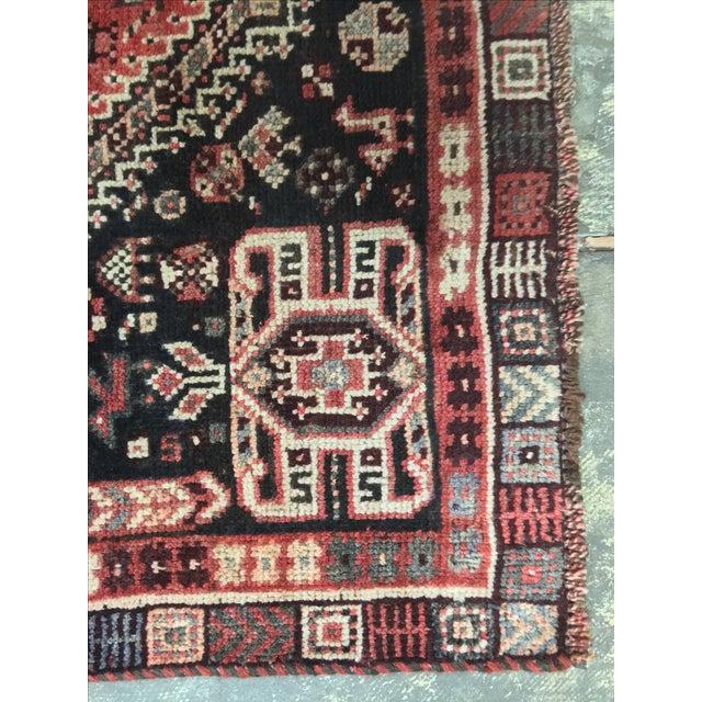 "Vintage Qasghi Persian Rug - 3'5"" X 5' - Image 7 of 10"