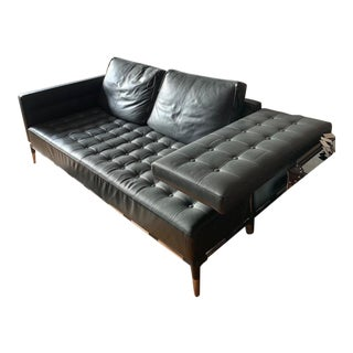 Modern Cassina Leather Sofa For Sale