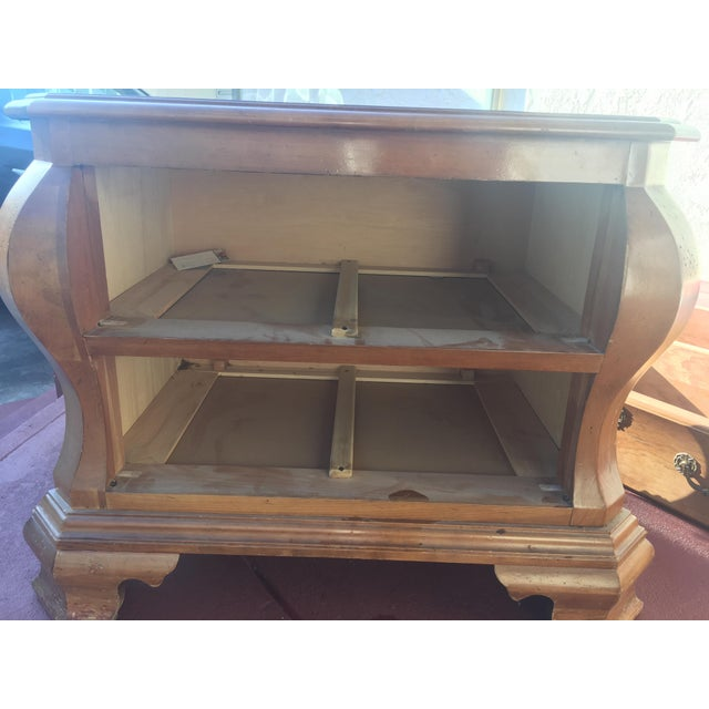 Vintage Side Table With Drawers - Image 4 of 6