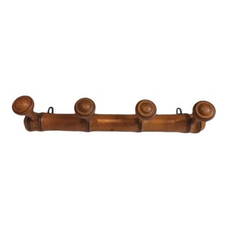 19th Century French Traditional Wood Hat Rack
