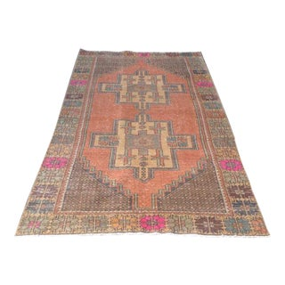 "Anatolian Oushak Wool Runner Rug - 4'1"" x 9'"