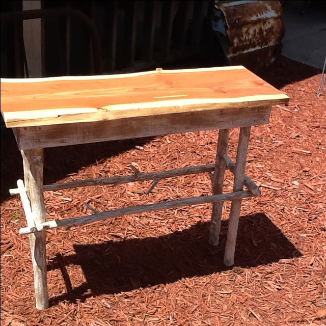 Rustic Red Cedar Table - Image 5 of 5