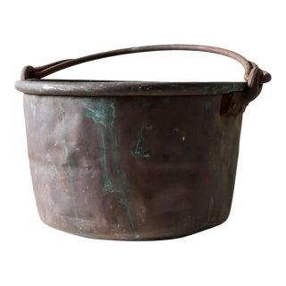 20th Century Rustic Copper Vessel II For Sale