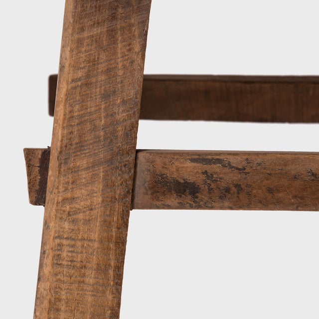 Wood Early 20th Century Chinese Farmhouse Prosperity Table For Sale - Image 7 of 8