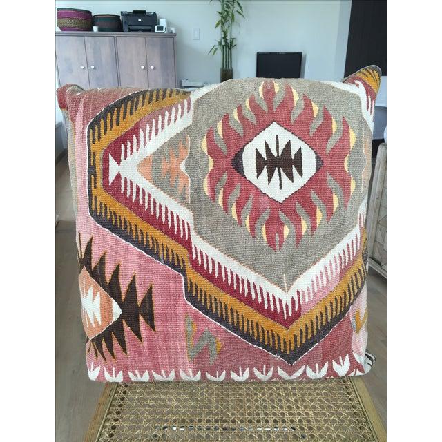 Traditional Turkish Kilim Pillow - Image 2 of 4