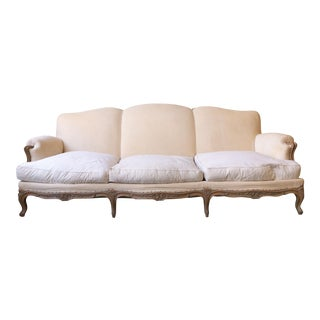 French 1950s Louis XV Style Sofa For Sale