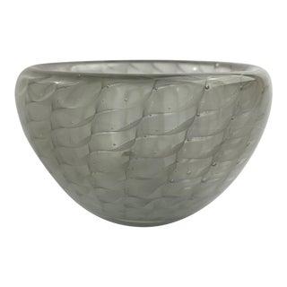 Kaj Franck in 1954 for Nuutajarvi Notsjo, Finland Art Glass Bowl For Sale
