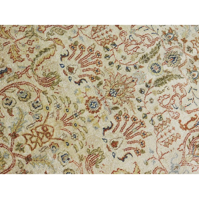 Mediterranean Indian Hand-Knotted Rug - 6' x 9' For Sale - Image 3 of 10