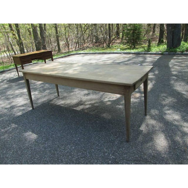 Swedish Farm Table, Former Work Table - Image 3 of 6