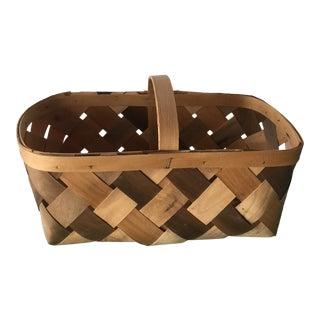 Vintage Farm House Basket For Sale