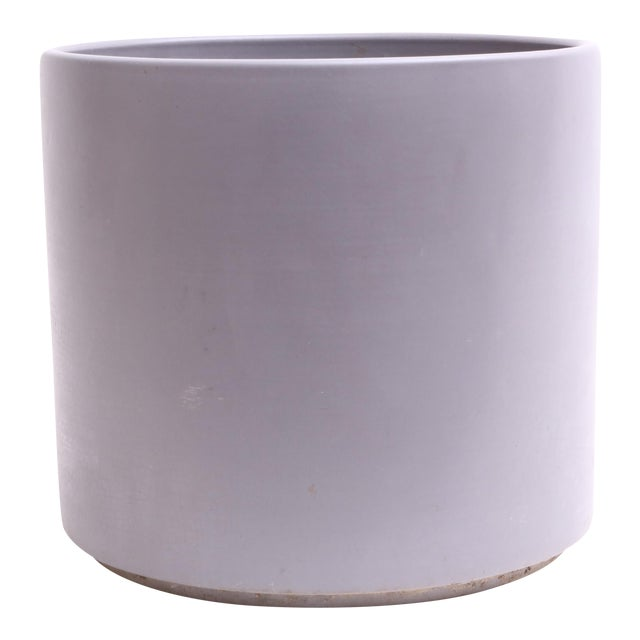 Gainey Ceramics Mid Century Modern Large Gray Planter For Sale