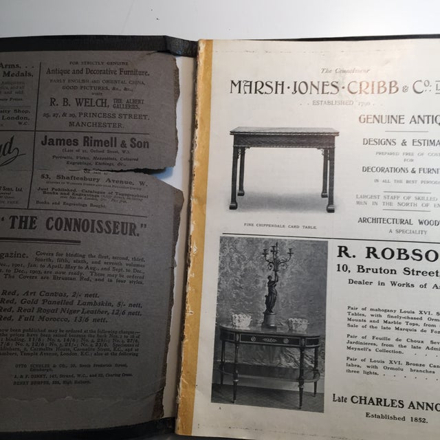 English Traditional The Connoisseur 1904 Antiques and Collectors For Sale - Image 3 of 10