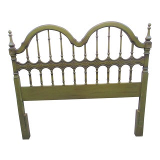 Spanish Revivial Avocodo Queensize Headboard For Sale
