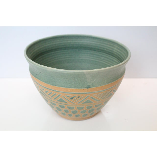 Vintage Mid Century Endleman Pottery Planter For Sale - Image 4 of 6