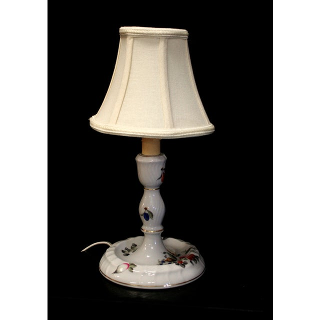 Antique Herend Candlestick Lamp - Image 2 of 6