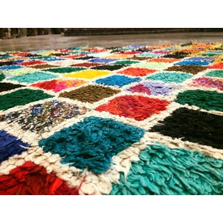 Vintage Berber Colorful Moroccan Runner With Diamond Pattern, 03'06 X 10'00 Preview