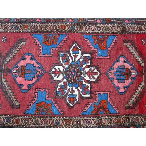 Persian Asad-Abad Hamedan Carpet - 4′ × 7′ - Image 4 of 6