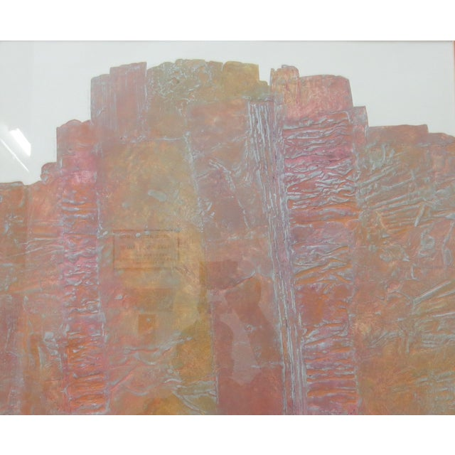 Janet Jones Framed rint on Paper - Solitary Canyon - Image 3 of 5