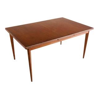 Danish Modern Teak Dining Table by Nils Jonsson, Denmark For Sale