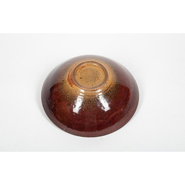 1960s Ceramic Bowl Edouard Chapallaz For Sale - Image 5 of 7