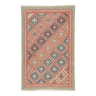 Jaipur Living Ottoman Handmade Geometric Red & Blue Area Rug - 9' X 12'