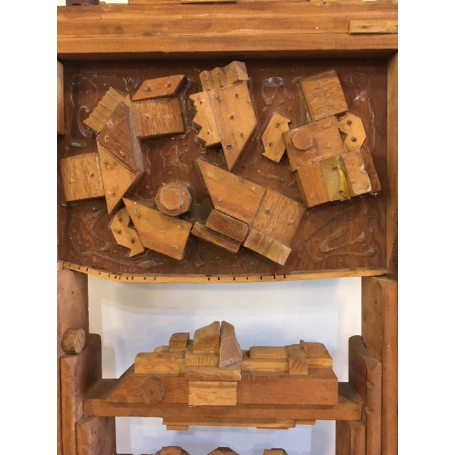 Wood Sculpture by George J. Marinko For Sale - Image 4 of 7