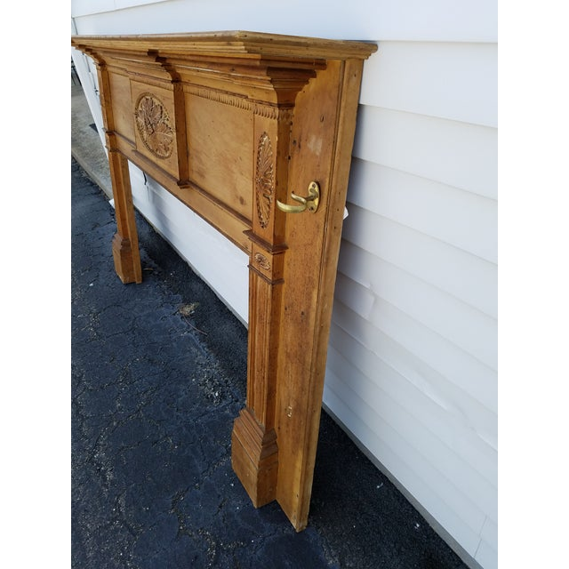 Early 19th Century Early 19th Century Federal Wooden Mantel For Sale - Image 5 of 9