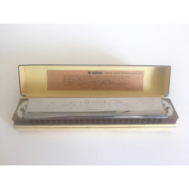 Vintage Yamaha Harmonica in 'C' - Image 6 of 10
