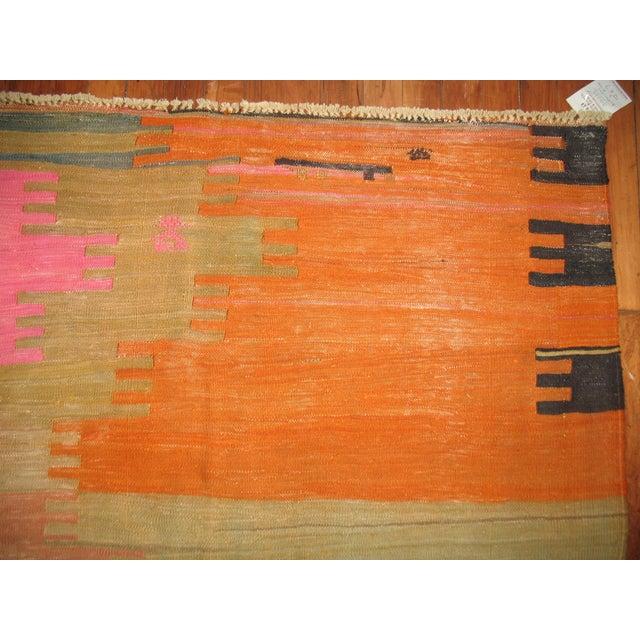 Vintage Kilim Rug - 7' X 10'2'' For Sale - Image 7 of 8