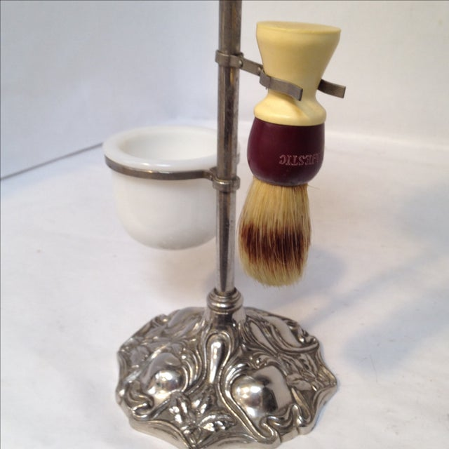 Antique Shaving Stand For Sale - Image 9 of 11