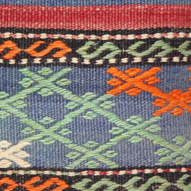 Turkish Handmade Kilim Pillow Cover - Image 3 of 6