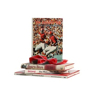 Football Decorative Book Gift Set: Roll Tide! For Sale