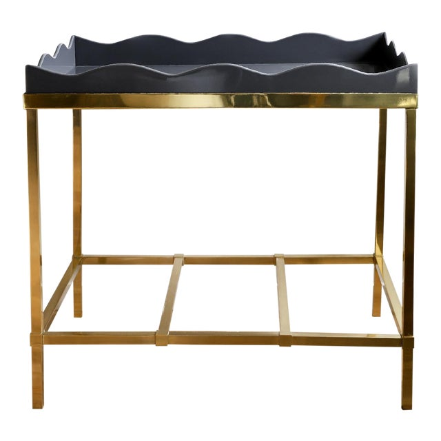 Contemporary Scallop Bar Table For Sale