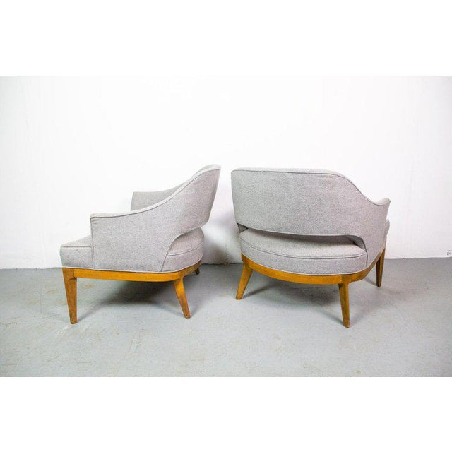 1950s Chic Pair of Lounge Chairs by Harvey Probber For Sale - Image 5 of 7
