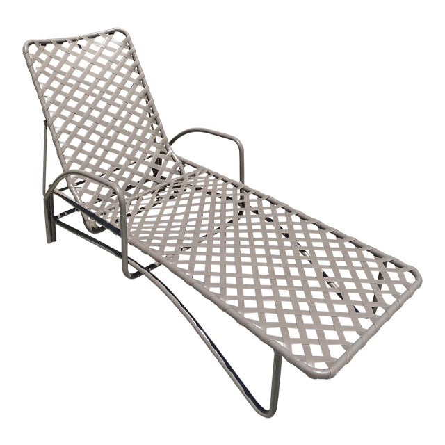Vintage Brown Jordan Tamiami Chaise For Sale