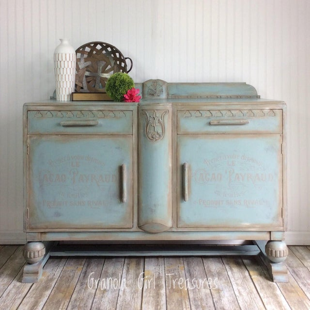 Evoking the feel of traditional farmhouse style with an updated attitude, this beautiful English buffet was crafted of...