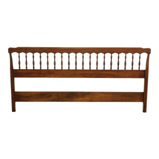 Henkel Harris Vintage Cherry King Headboard For Sale
