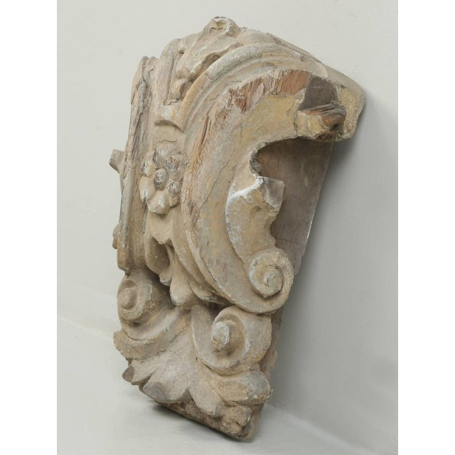 Antique Italian Carved Decorative Architectural Element For Sale - Image 10 of 10