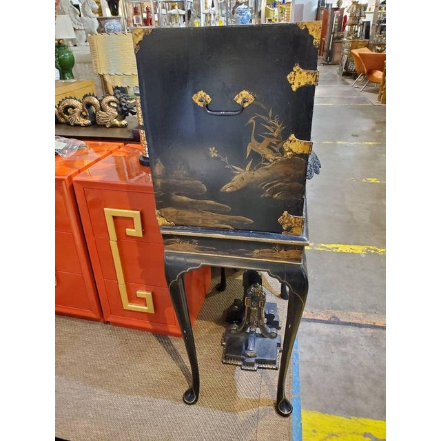 Japanese 19th Century Japanese Tea Cabinet on Stand - 2 Pieces For Sale - Image 3 of 10
