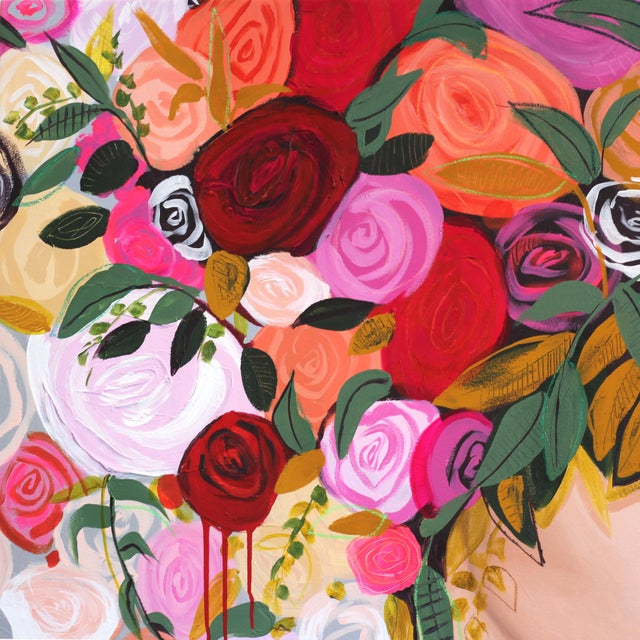 As your gaze lingers on one of Sally K's paintings, you notice how Sally's brush strokes add playfulness and life to the...