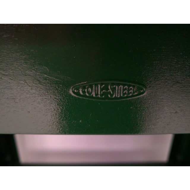 Cole Steel Green & Gold Typewriter Stand - Image 8 of 11