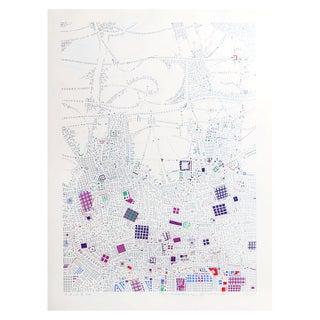 Risaburo Kimura - City 87 Silkscreen