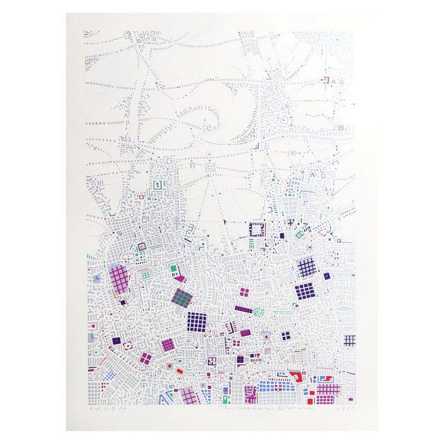 Risaburo Kimura - City 87 Silkscreen - Image 1 of 2